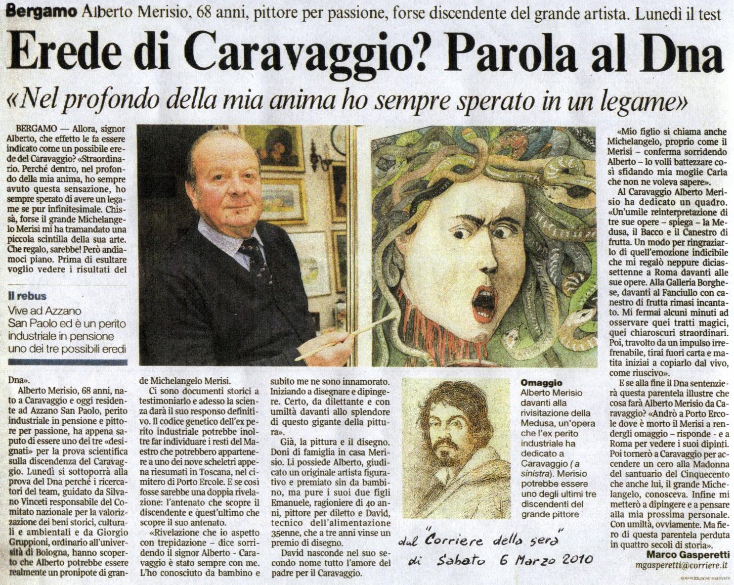 merisio_dna_caravaggio_corriere